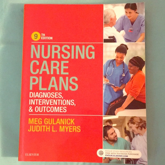 Elsevier Other - 9th Edition Nursing Care Plans Book